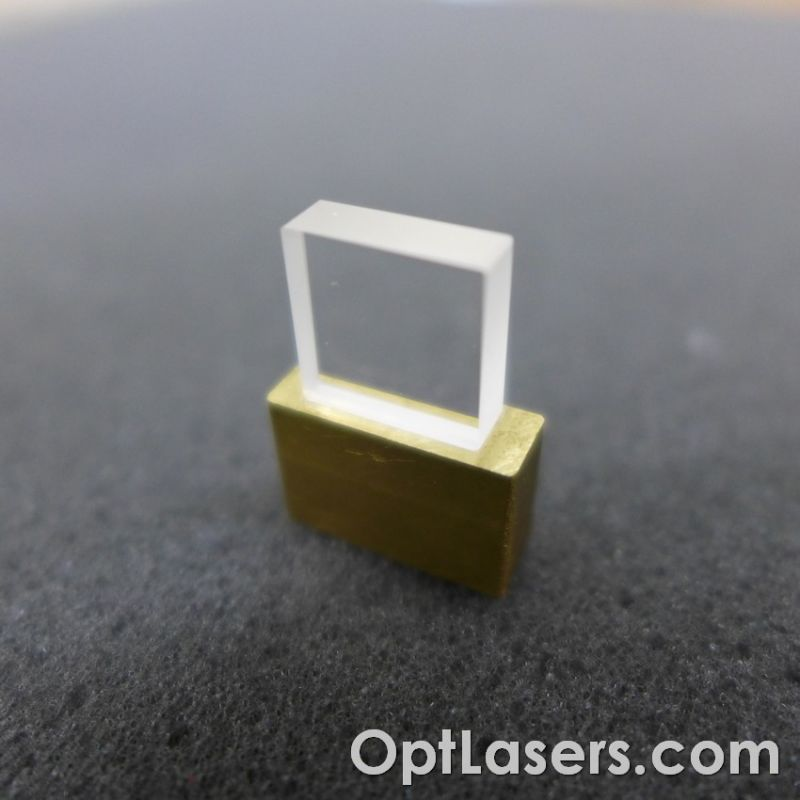 525 nm Wave Rotator Plate 90° With Brass Mount