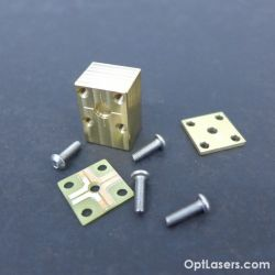 TO-18 brass Laser Diode Housing Mount