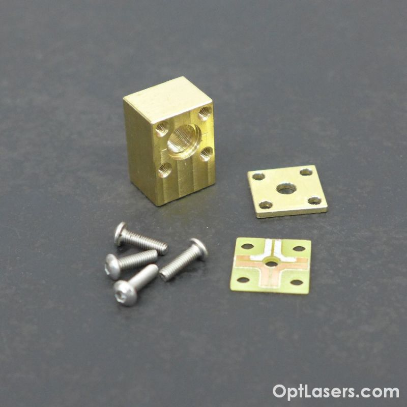 TO-5 brass Laser Diode Housing Mount