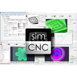 SimCNC perpetual license of CNC control software
