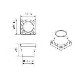 PLH3D-2W Nozzle ABS