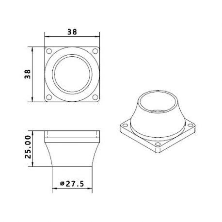 PLH3D-6W Nozzle ABS