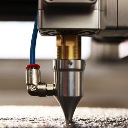 High-Pressure Air-Assist Nozzle Kit for Laser Cutting