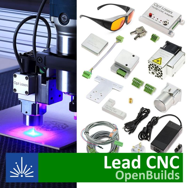 Openbuilds WorkBee/Lead Laser Upgrade with PLH3D-6W-XF