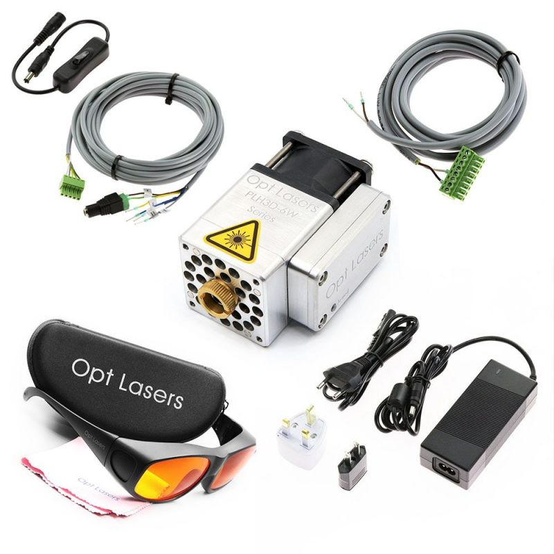 Universal Eco Saver Laser Upgrade with PLH3D-6W-XF Engraving Laser Head