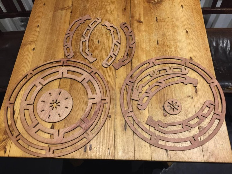 Laser Cutting of Wood