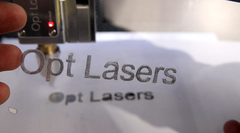 Laser Engraving Acrylic Results