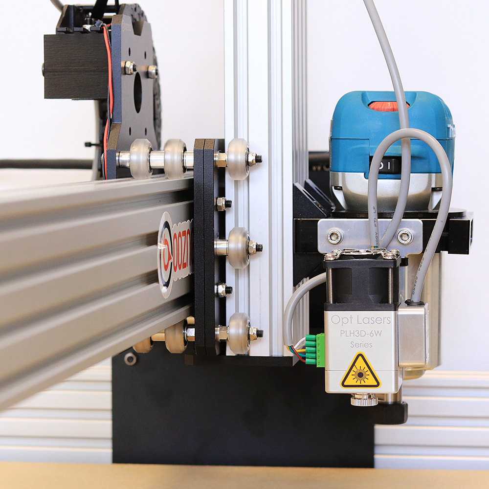 CNC Laser Mounted to a machine