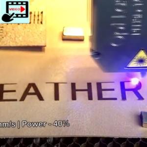 PLH3D-15W Engraving Grain Leather