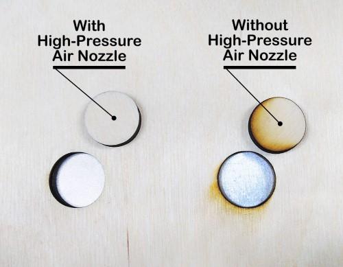 PLH3D-15W Nozzle Effect
