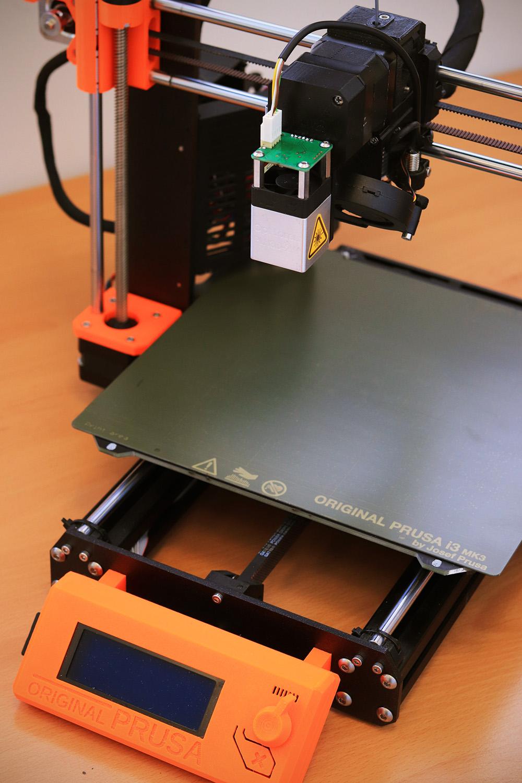 CNC laser Mounted to 3D Printer