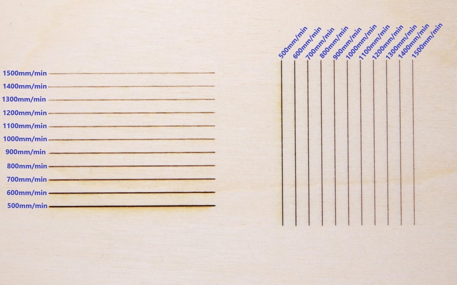 Testing Laser Engraving Speed