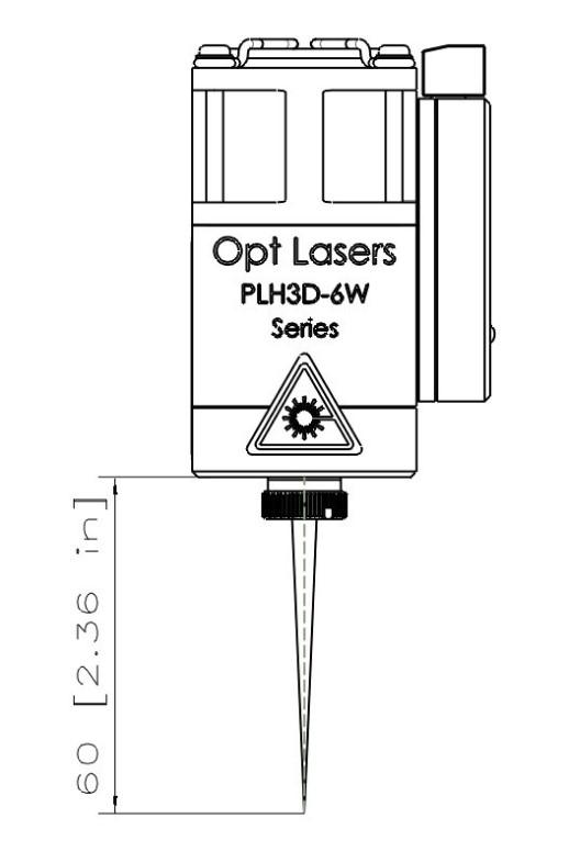 PLH3D-6W-XF laser engraver factory set focus