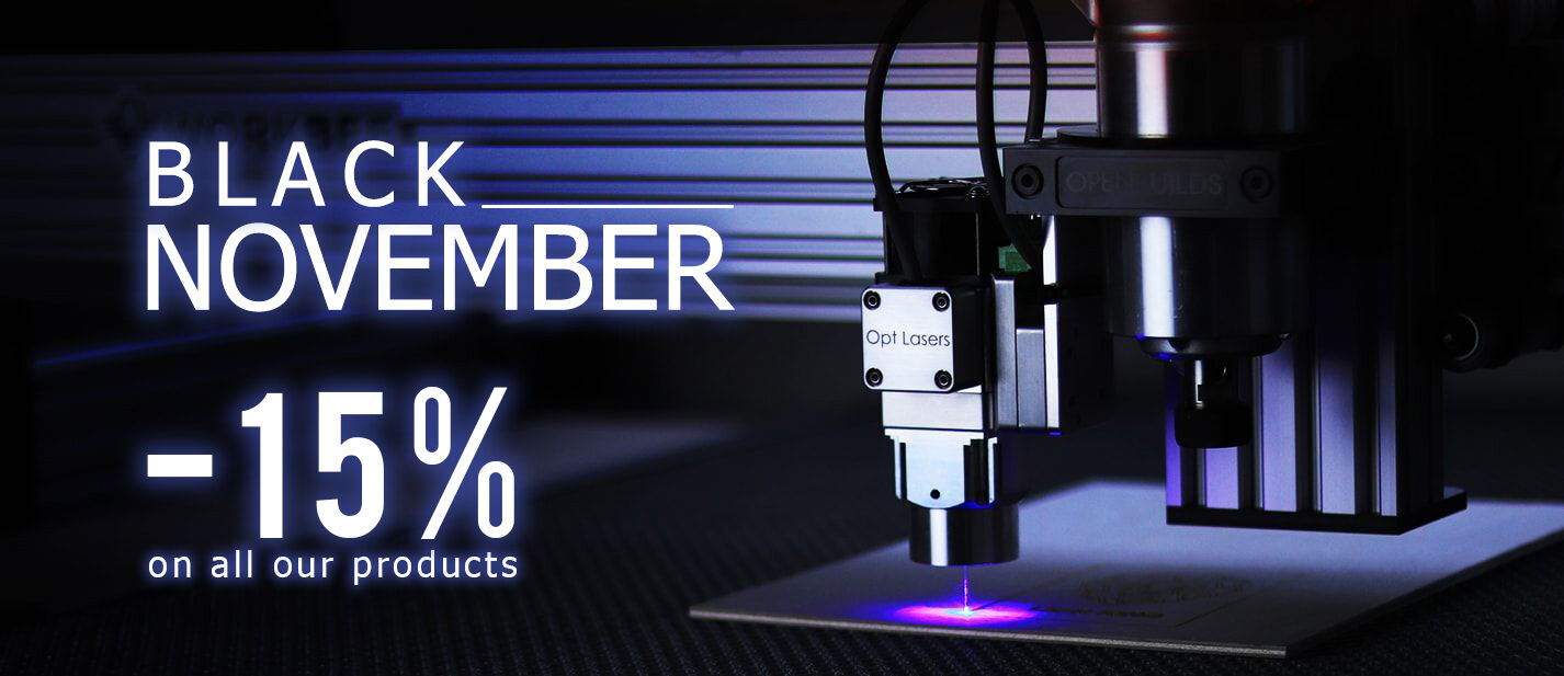Black November -15% on all products